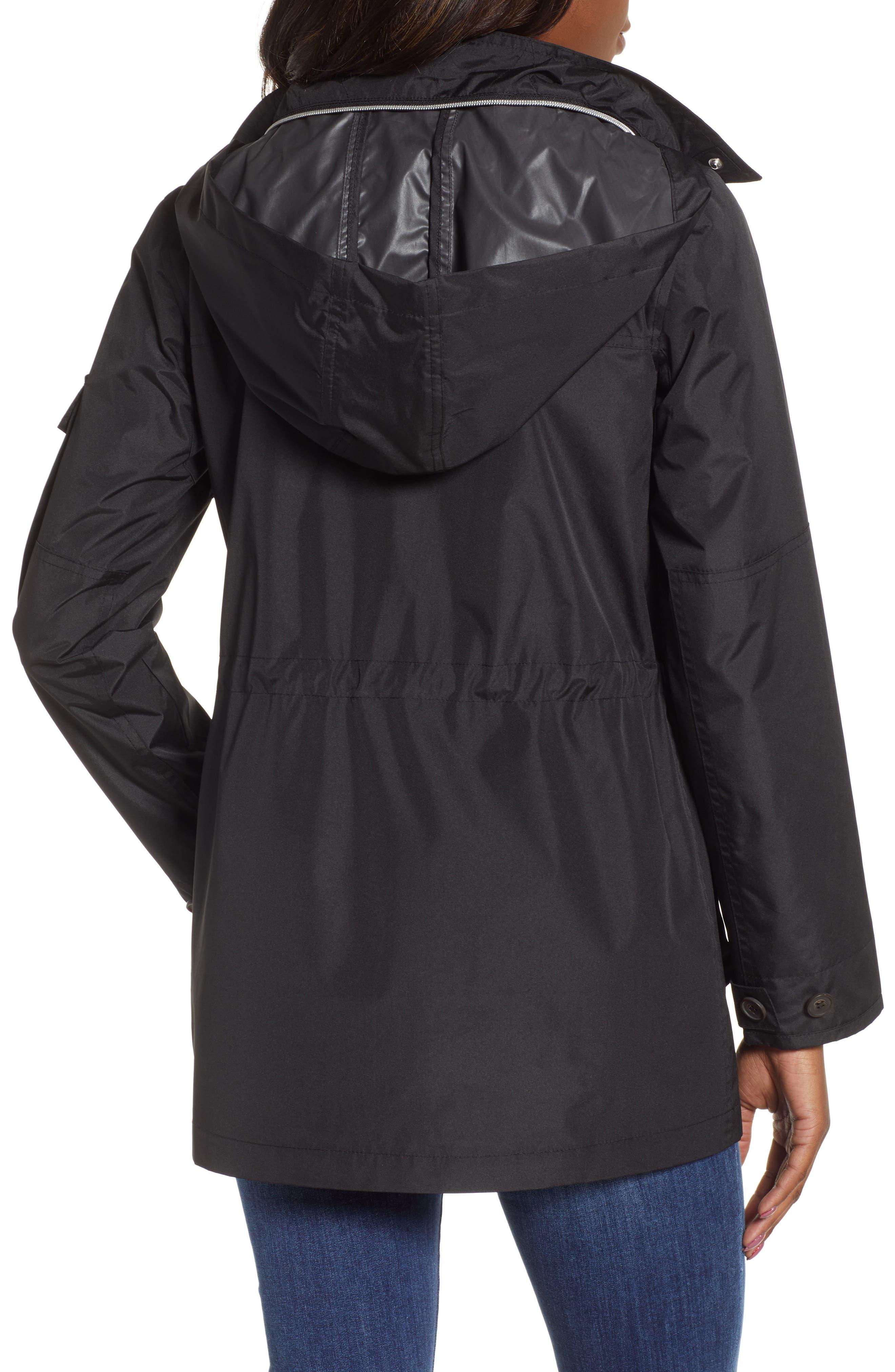 ,                             4-Pocket Water Repellent Utility Jacket,                             Alternate thumbnail 2, color,                             BLACK