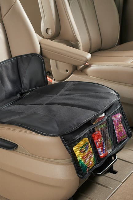 Image of TALUS High Road Kids Car Seat Protector Mat - Black