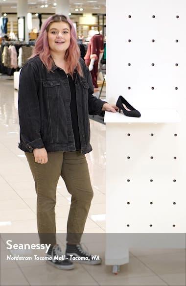Nicki Pointed Toe Kitten Heel Pump, sales video thumbnail