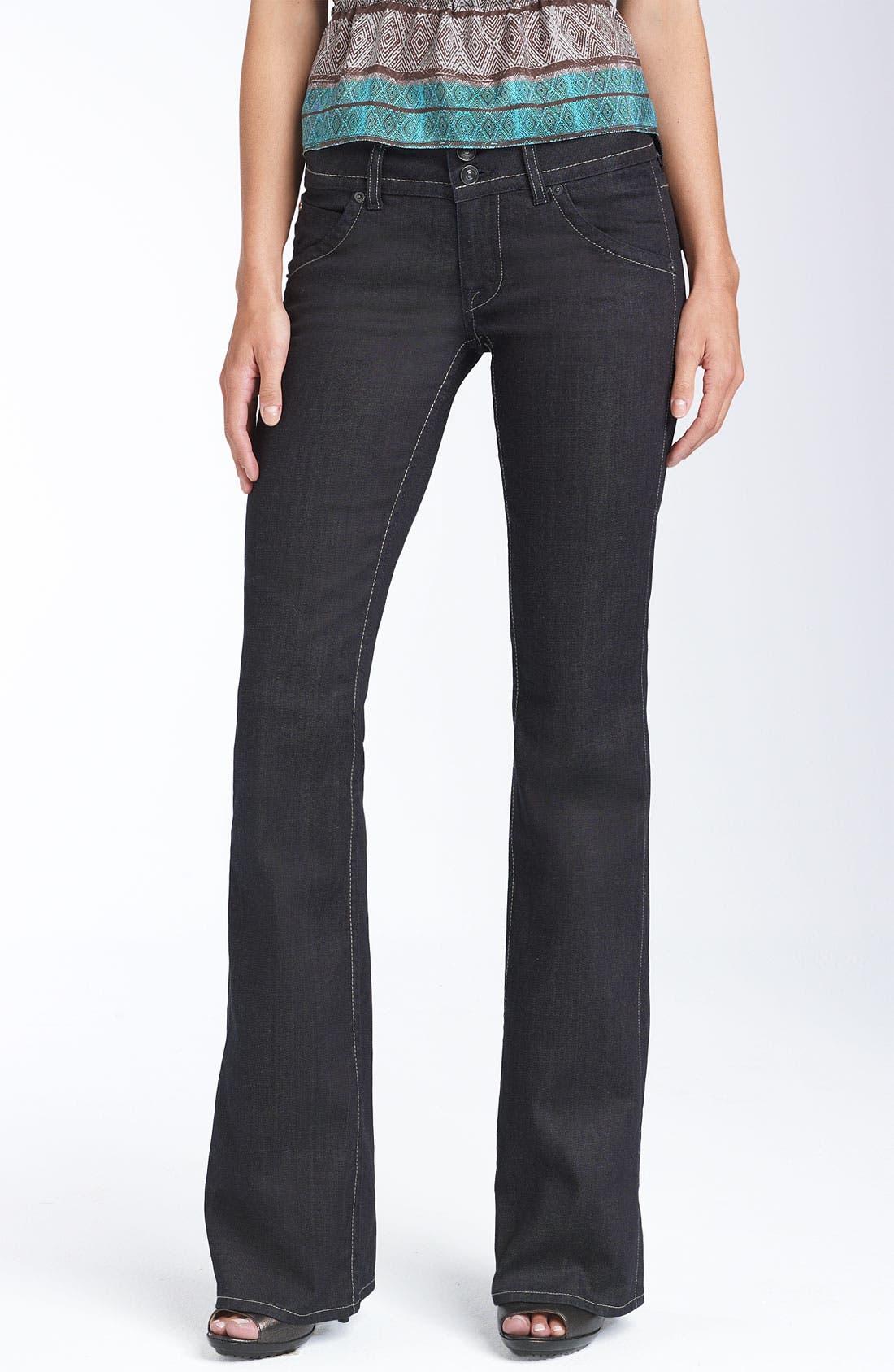 ,                             Signature Flap Pocket Bootcut Jeans,                             Main thumbnail 30, color,                             407
