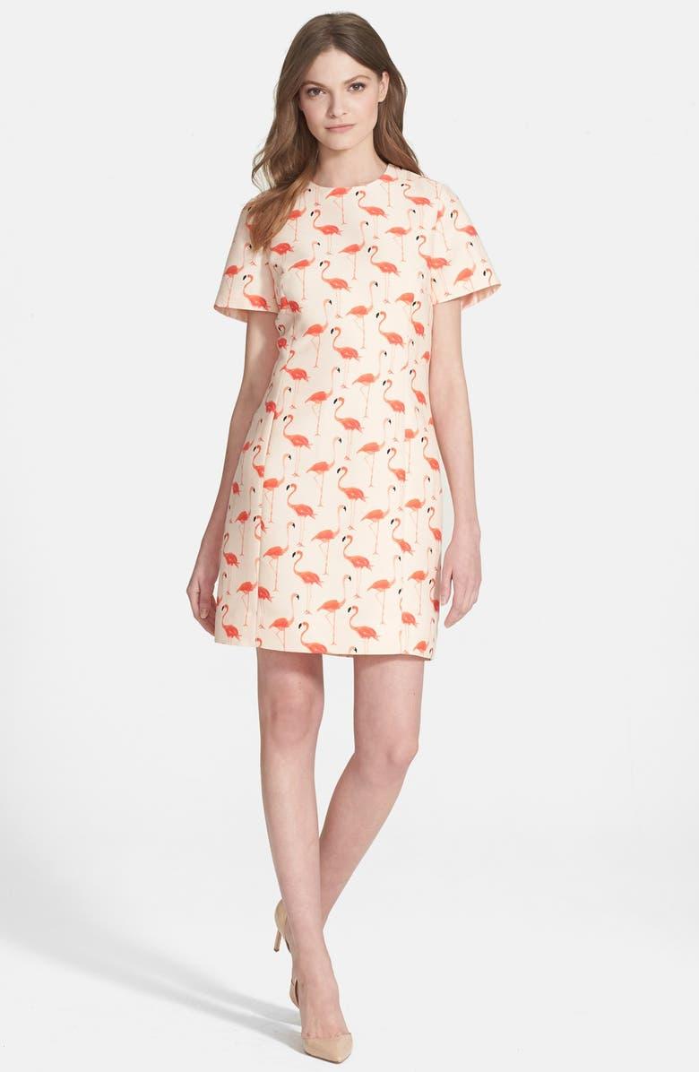 KATE SPADE NEW YORK 'flamingo' sheath dress, Main, color, 160