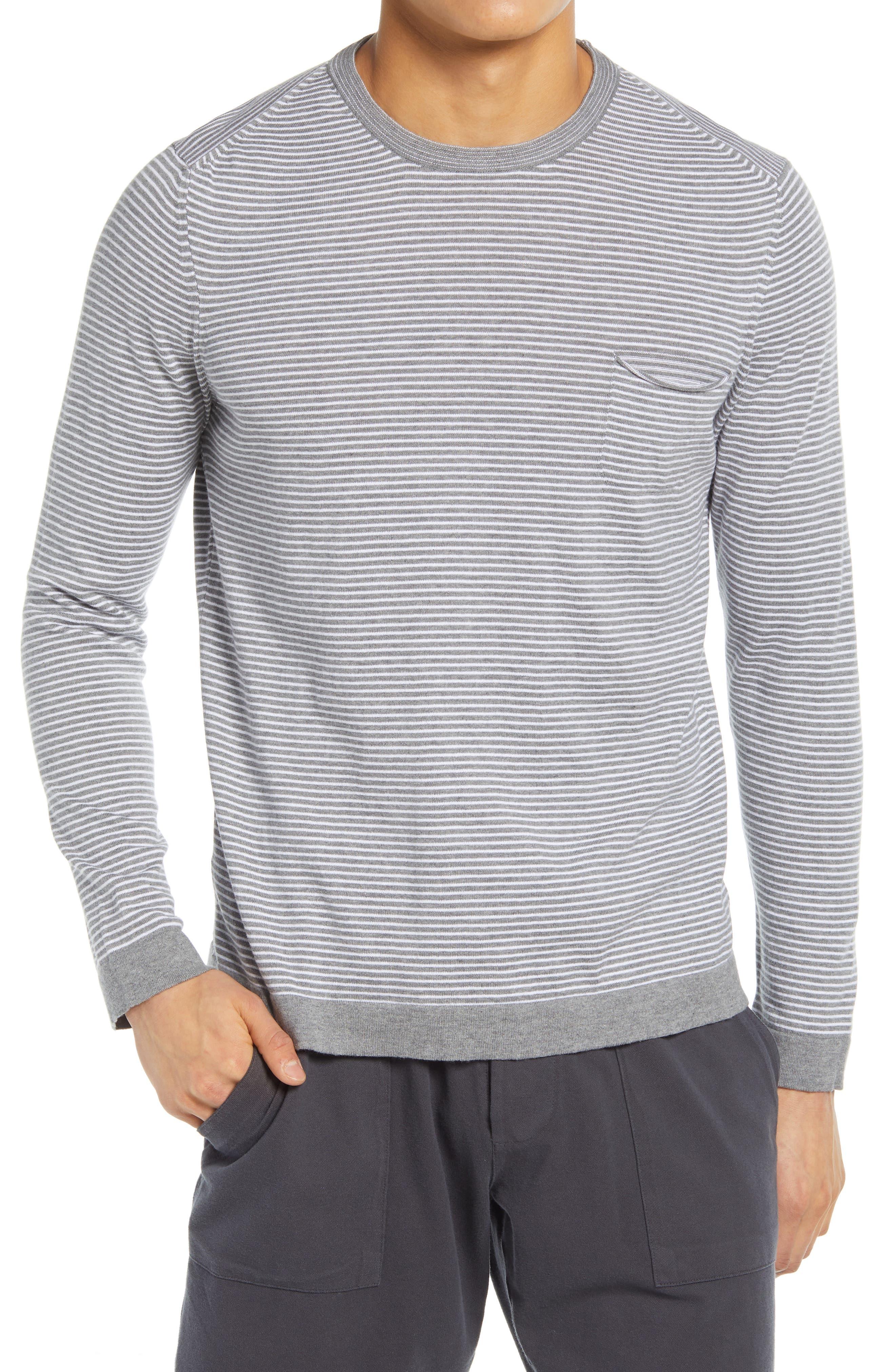 Pocket Stripe Sweater
