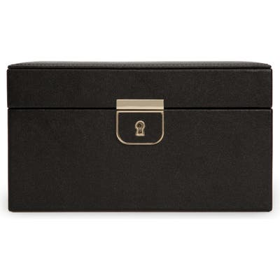 Wolf Palermo Small Jewelry Box - Black