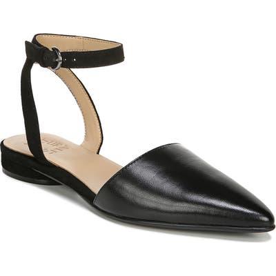 Naturalizer Hartley Ankle Strap Sandal W - Black
