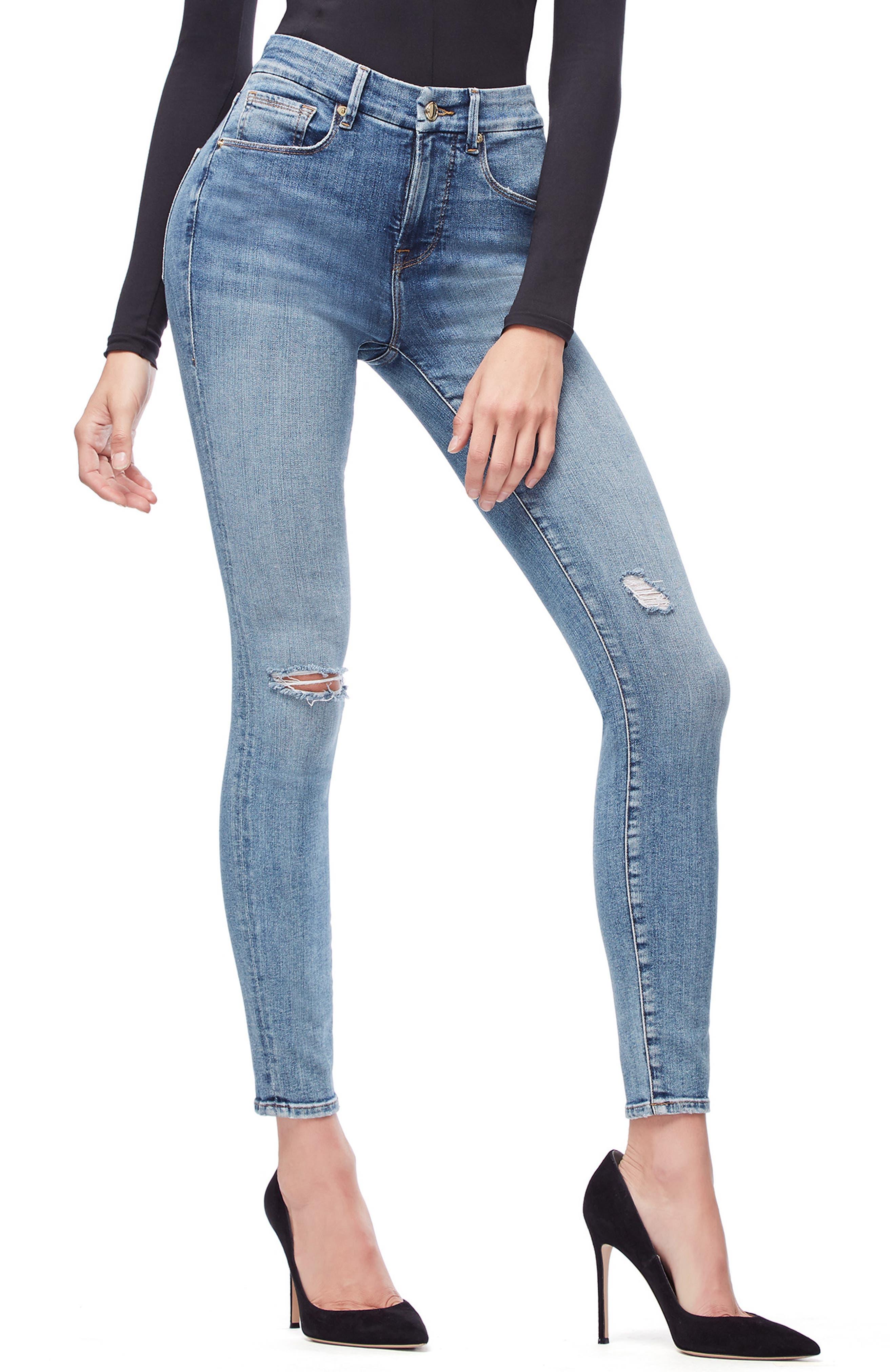 ,                             Good Legs High Waist Skinny Jeans,                             Alternate thumbnail 51, color,                             407