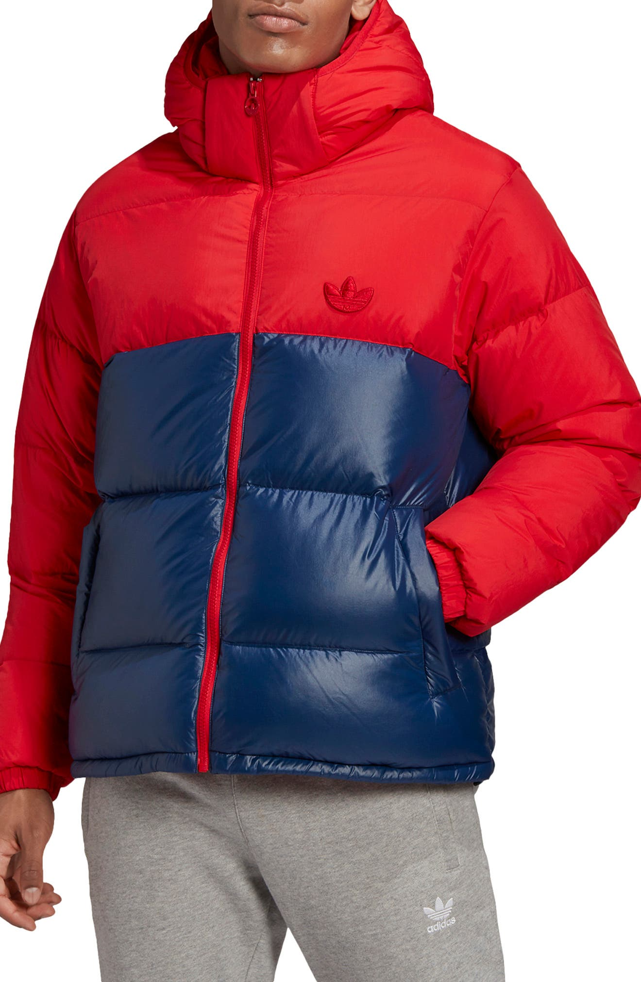 Image of ADIDAS ORIGINALS Down Blocked Regen Puffer Jacket