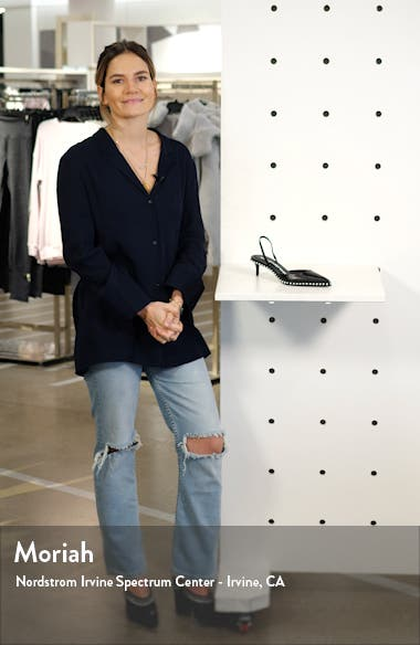 Rina Studded Slingback Pump, sales video thumbnail