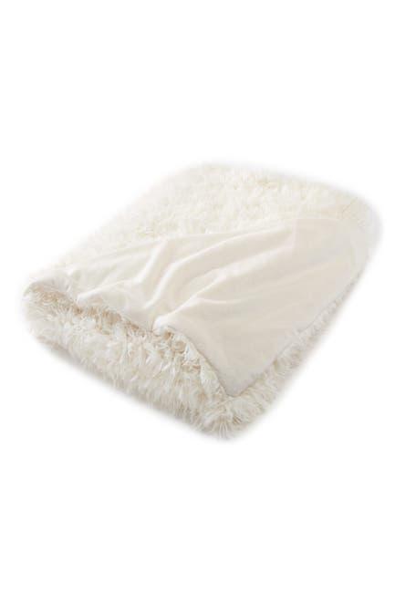 "Image of Nordstrom Rack Cozy Faux Fur Throw - 50"" x 60"""