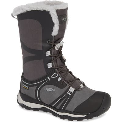 Keen Terradora Faux Fur Trim Waterproof Snow Boot