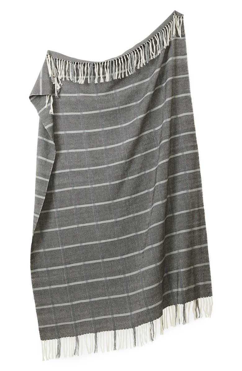 MINNA Louise Throw Blanket, Main, color, DUSK