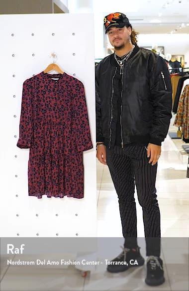 Tiana Leopard Print Babydoll Dress, sales video thumbnail