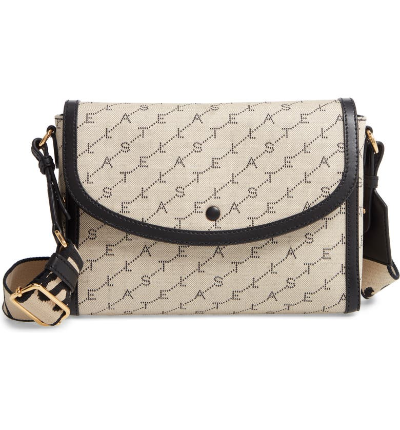 STELLA MCCARTNEY Monogram Canvas Crossbody Bag, Main, color, 251