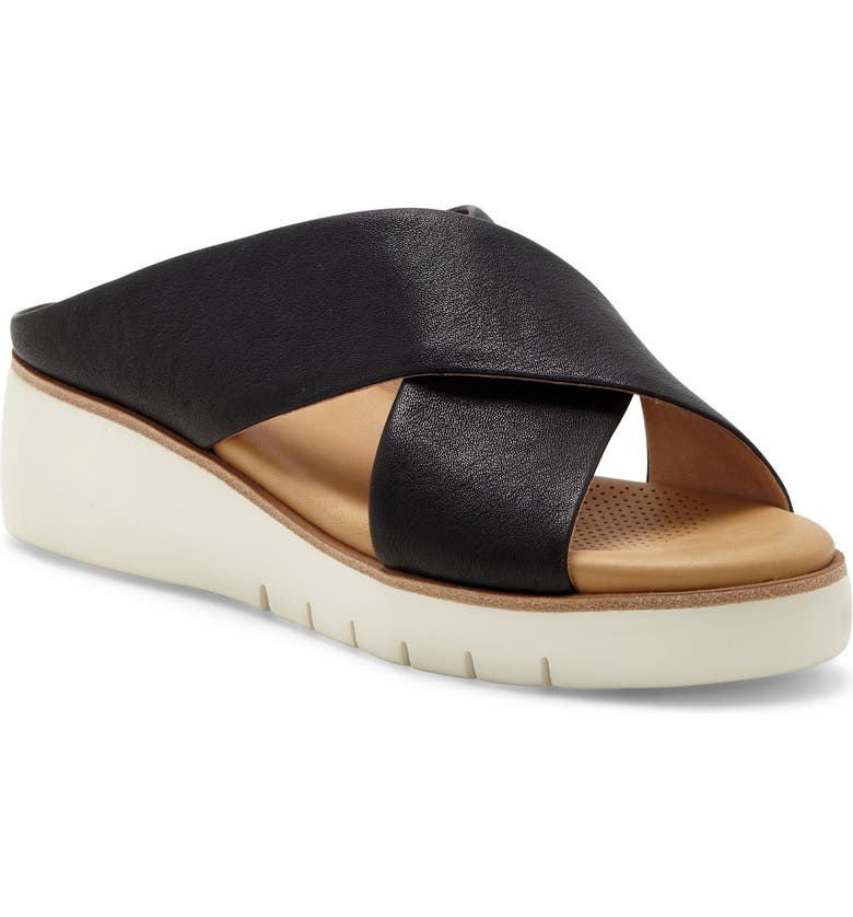 CC CORSO COMO<SUP>®</SUP> Bilanka Slide Sandal, Main, color, BLACK LEATHER