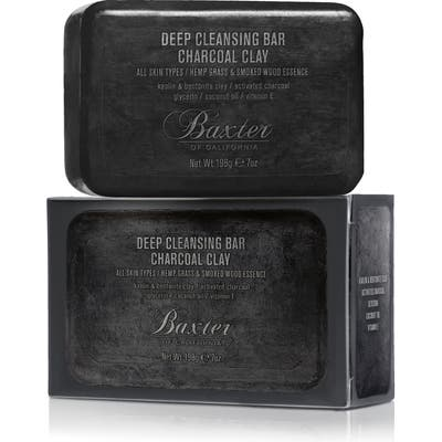 Baxter Of California Deep Cleansing Charcoal Clay Bar Soap, oz