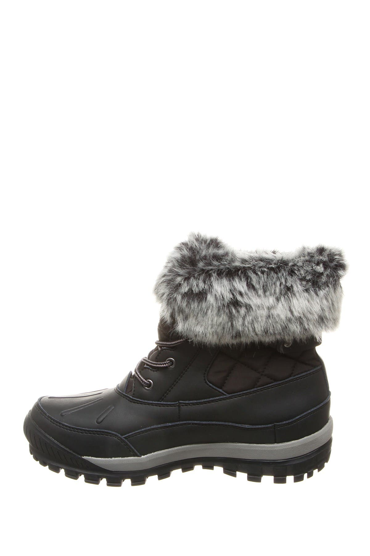 Image of BEARPAW Becka Faux Fur Collar Boot