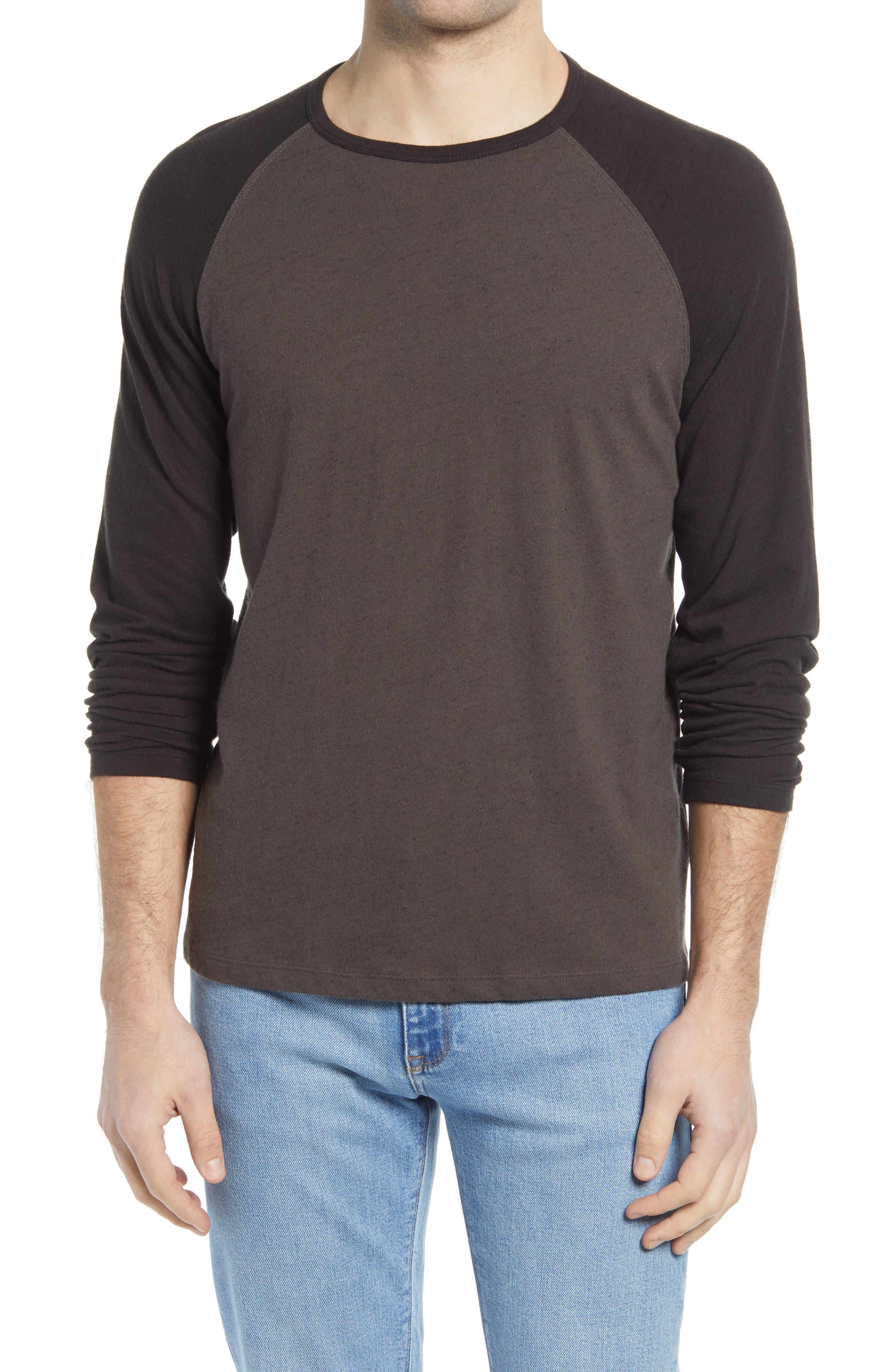 Cotton & Linen Baseball T-Shirt