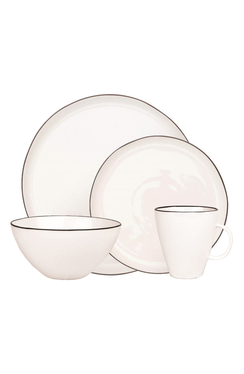 CANVAS HOME Abbesses 4-Piece Dinnerware Place Setting, Main, color, 001
