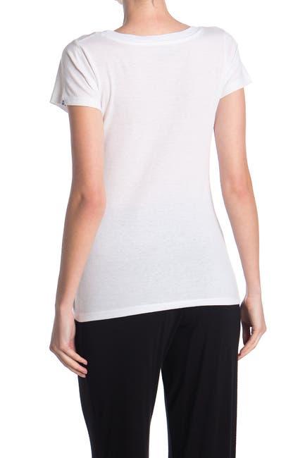 Image of Psycho Bunny Graphic V-Neck T-Shirt