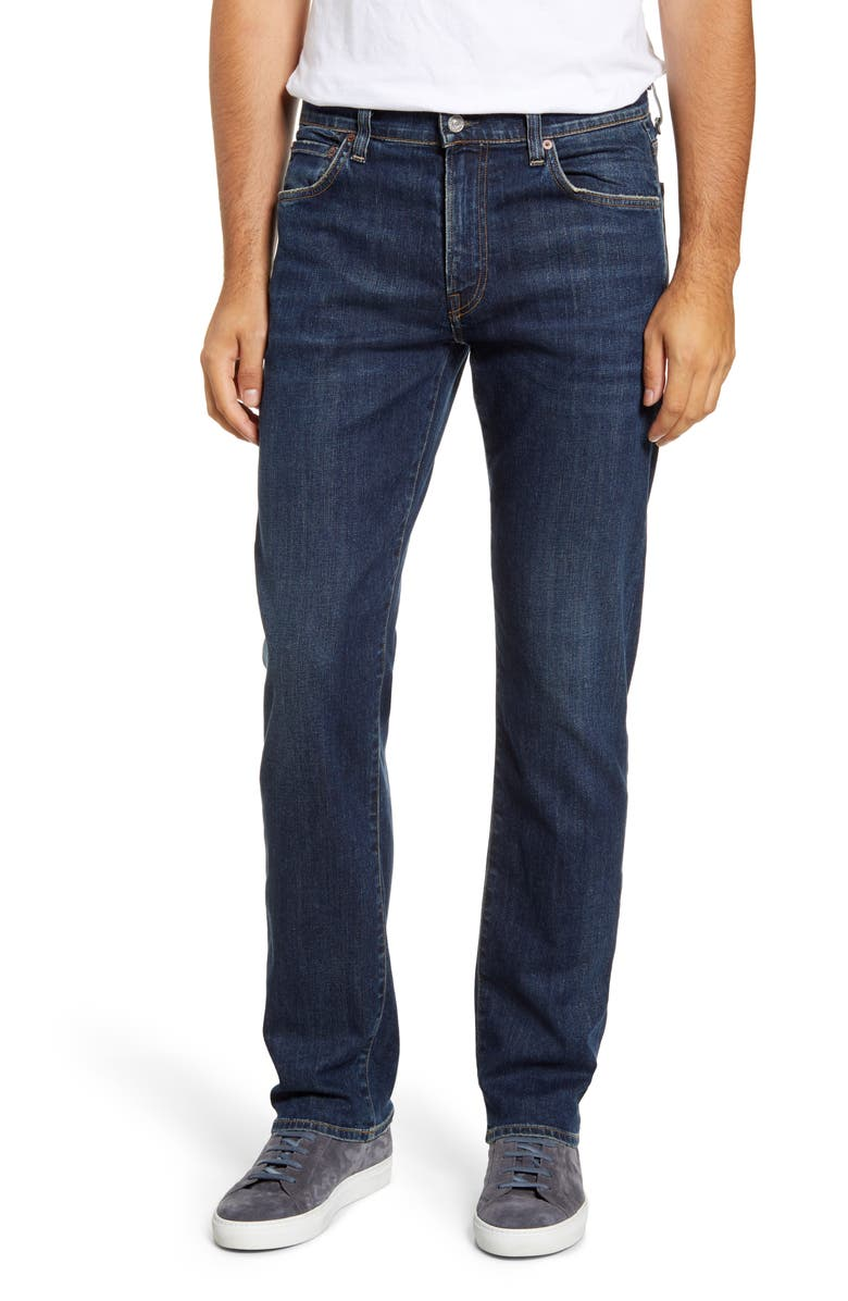 CITIZENS OF HUMANITY Gage Slim Straight Leg Jeans, Main, color, MEMPHIS INDIGO