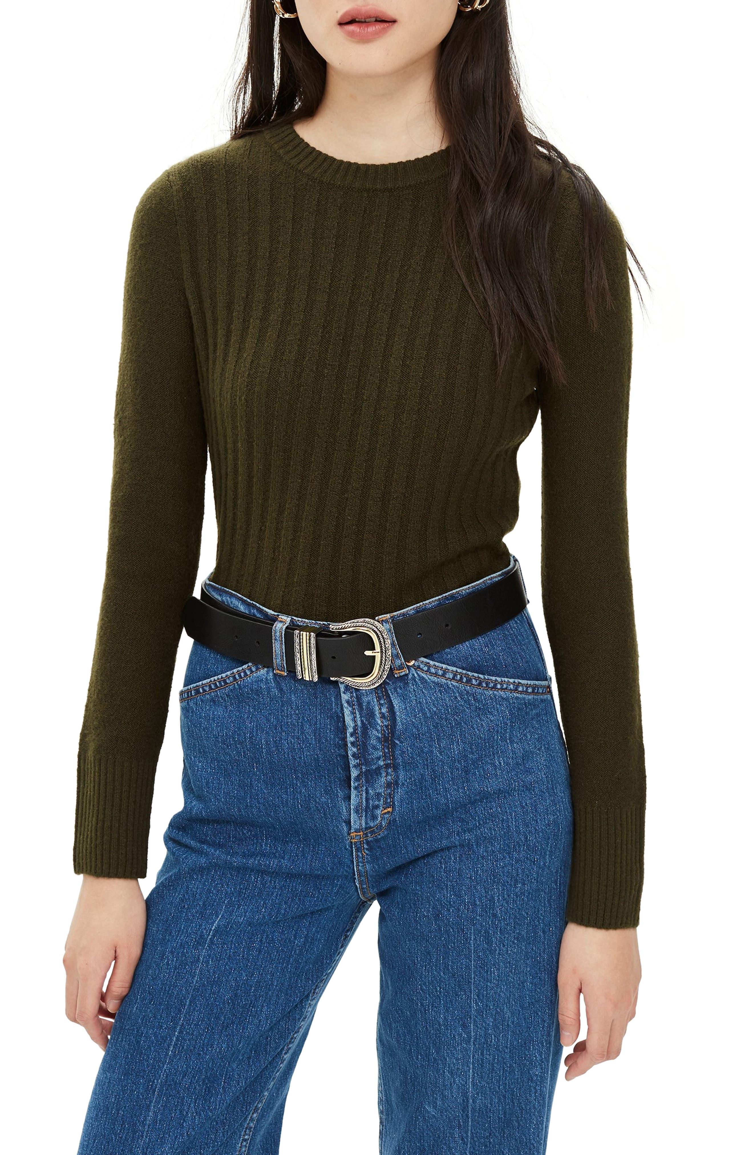 ,                             Rib Sweater,                             Main thumbnail 9, color,                             300