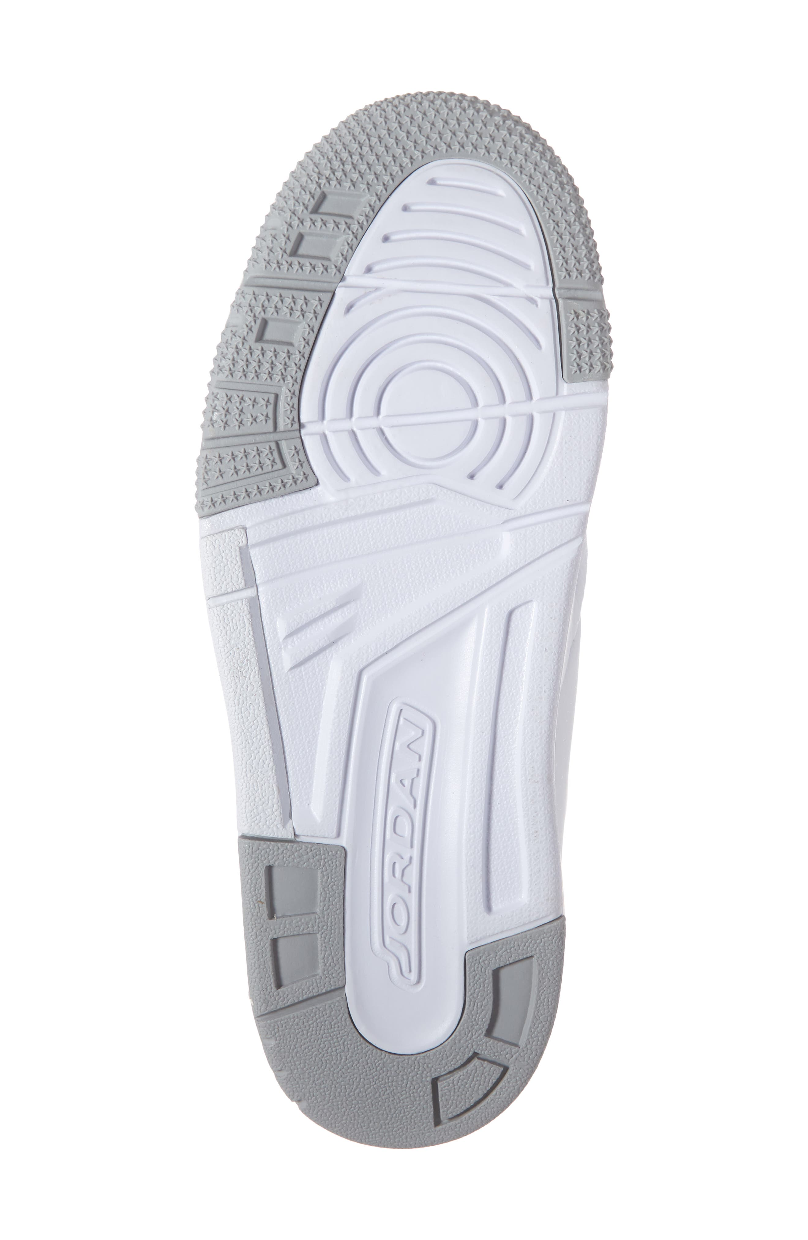 ,                             Big Fund Mid Top Basketball Sneaker,                             Alternate thumbnail 6, color,                             WHITE/ METALLIC SILVER-BLACK