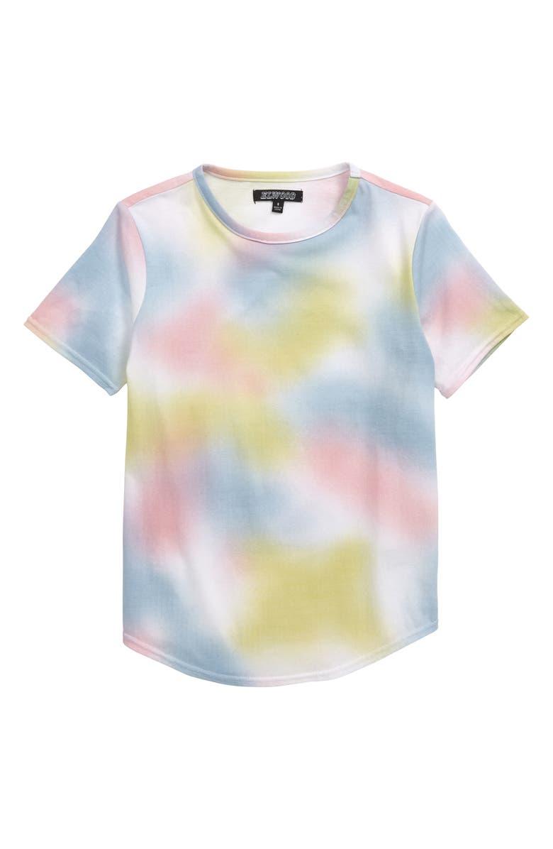 ELWOOD Curved Hem T-Shirt, Main, color, 020