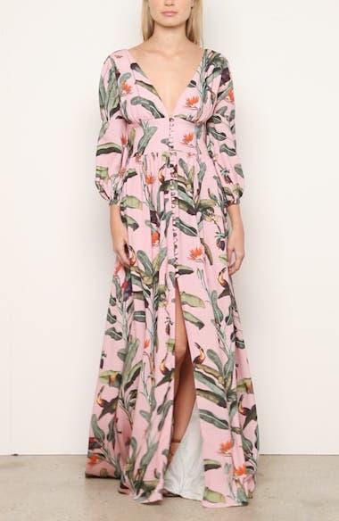 Tropical Print Gown, video thumbnail