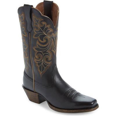 Ariat Roundup Western Boot- Black