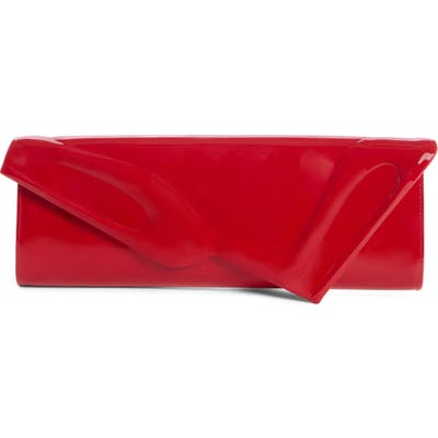 Christian Louboutin So Kate Patent Leather Clutch - Red (Nordstrom Exclusive)