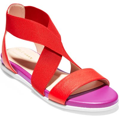Cole Haan Grand Ambition Sandal, Red