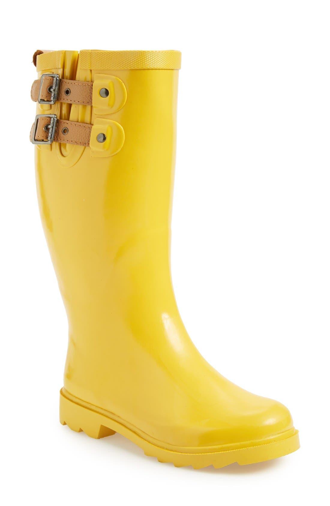 ,                             'Top Solid' Rain Boot,                             Main thumbnail 145, color,                             711
