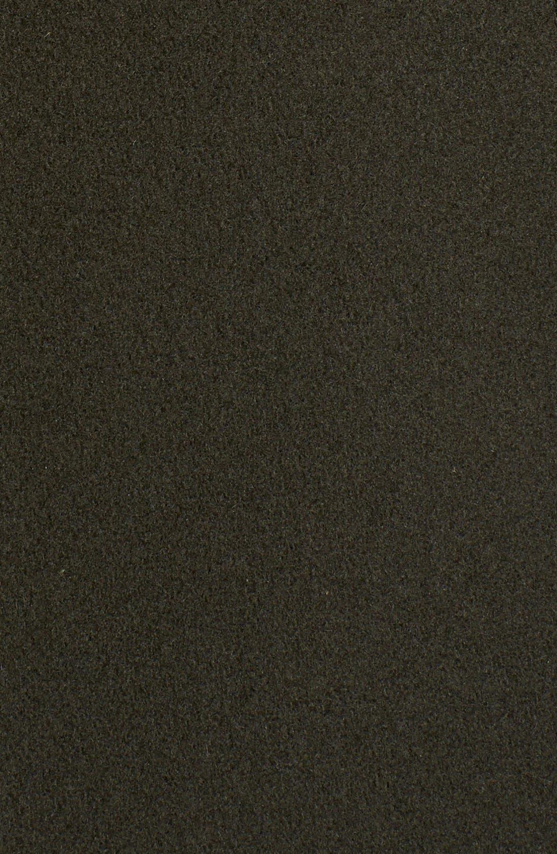 ,                             Genuine Coyote Fur Trim Wool Blend Duffle Coat,                             Alternate thumbnail 13, color,                             300