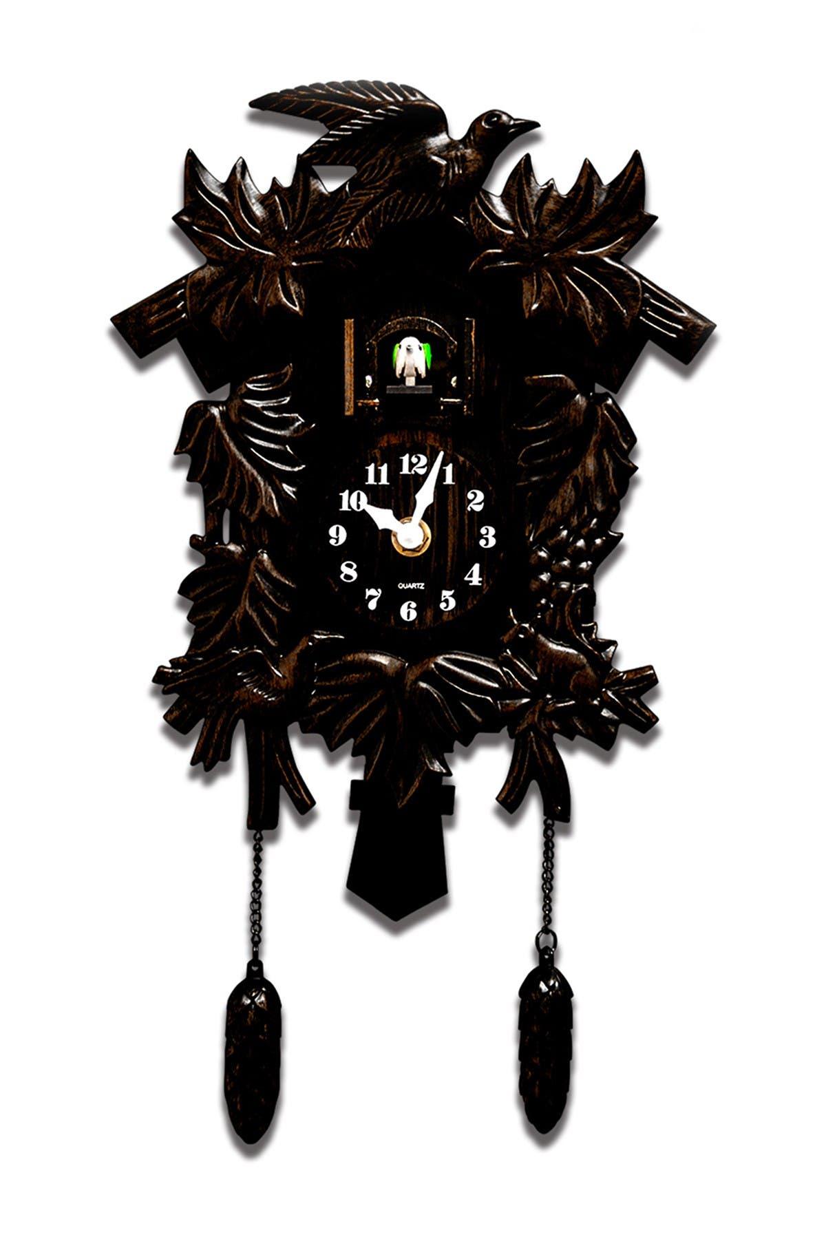 Image of WalPlus Antique Hamburg Black Forest Cuckoo Bronze Wall Clock Decal