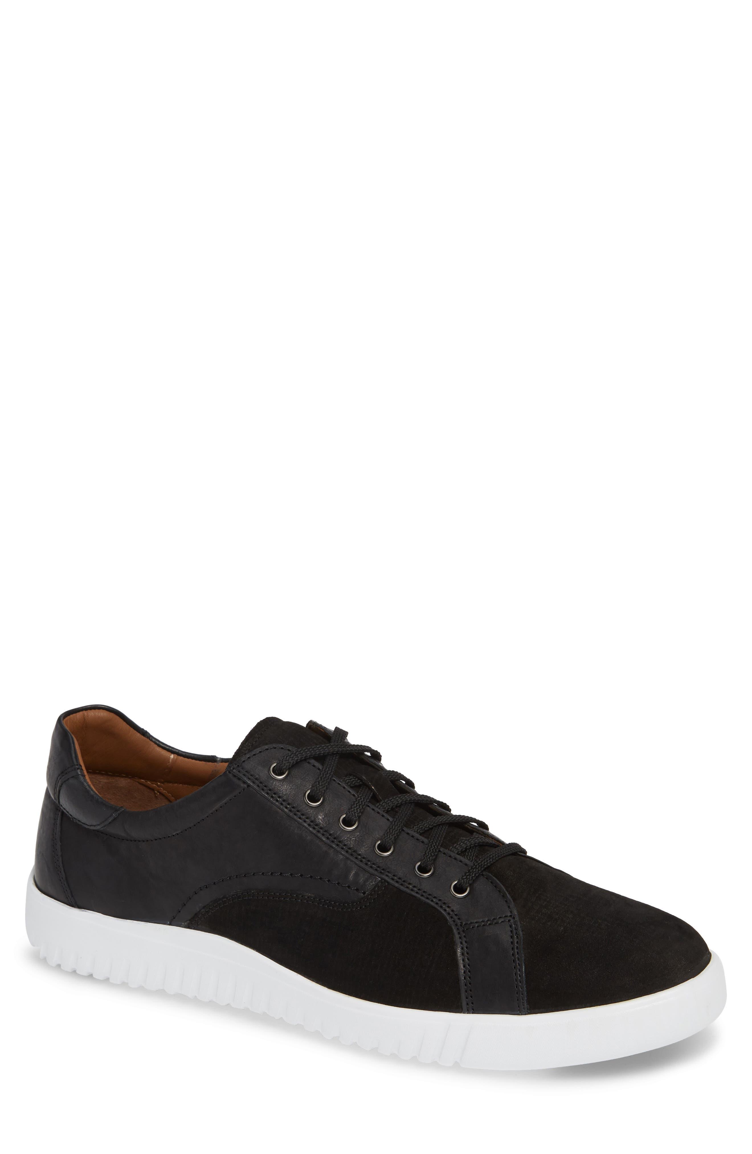 Johnston & Murphy Mcfarland Sneaker- Black