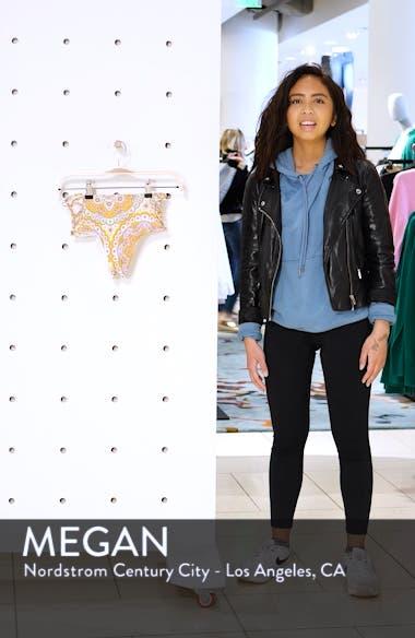 Alhambra Lace-Up High Rise Bikini Bottoms, sales video thumbnail