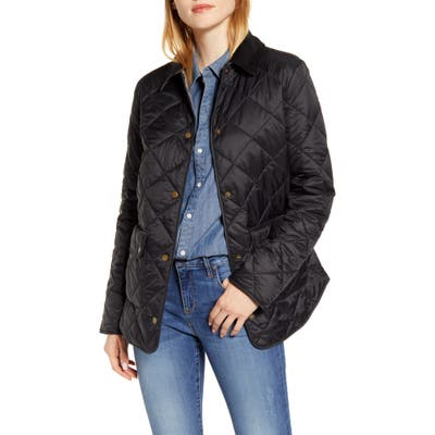 Barbour Oakland Quilted Jacket, US / 8 UK - Black