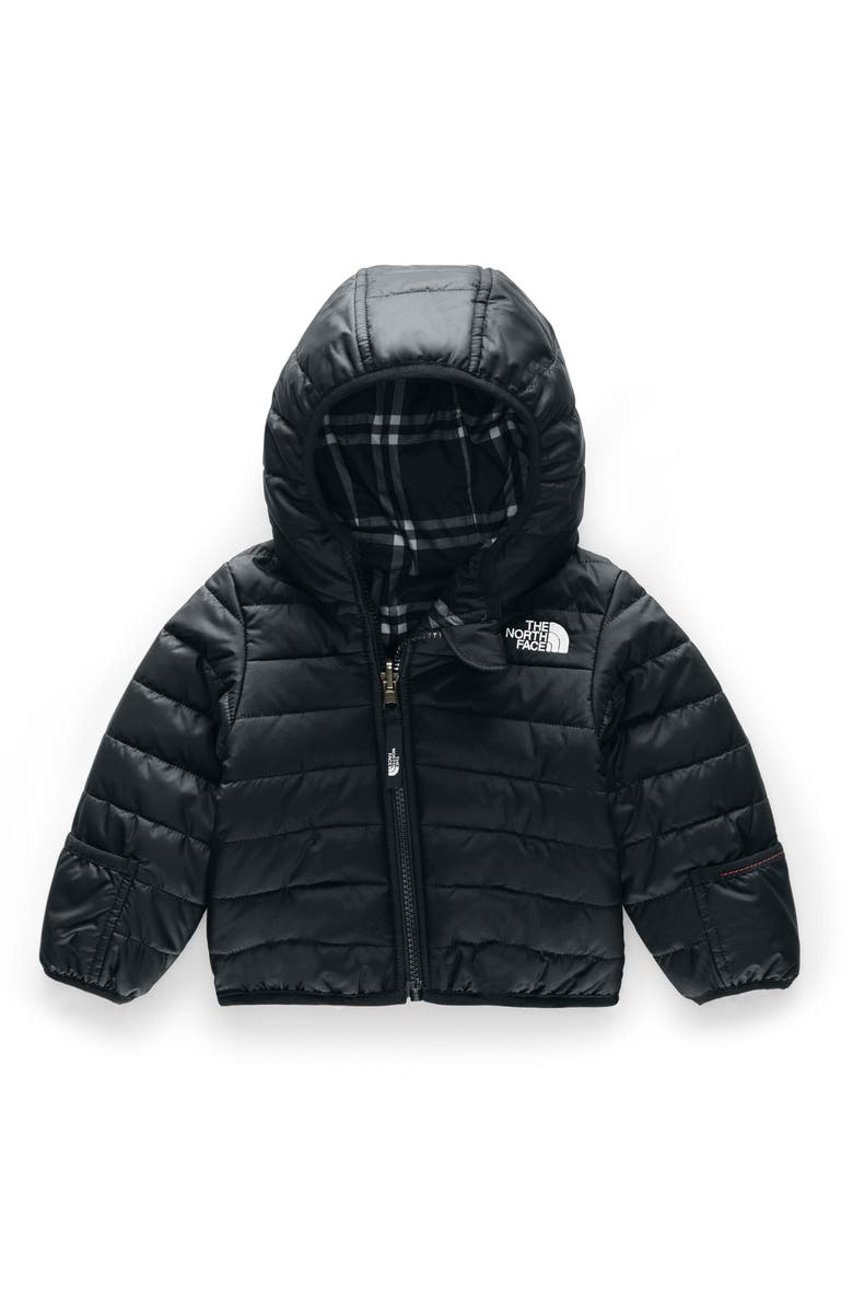 THE NORTH FACE Perrito Reversible Water Repellent Heatseaker<sup>™</sup> Insulated Jacket, Main, color, TNF BLACK