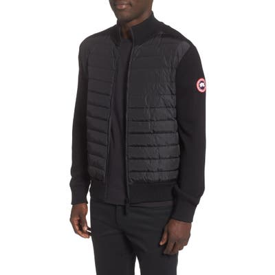 Canada Goose Hybridge 675 Fill Power Down Jacket, Black