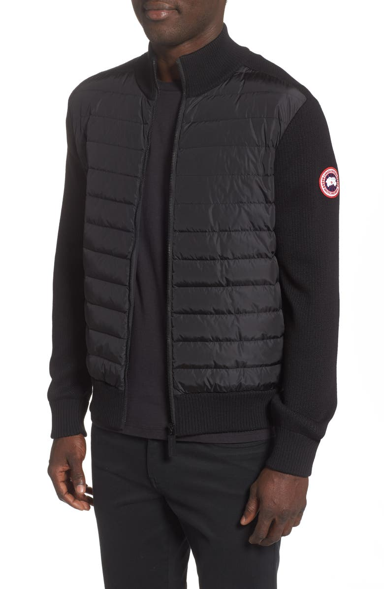 CANADA GOOSE Hybridge 675 Fill Power Down Jacket, Main, color, BLACK