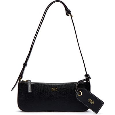 Frances Valentine Boarskin Leather Baguette Bag - Black