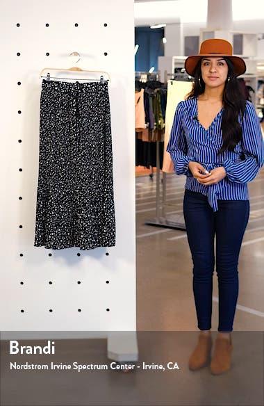 Star Pleat Midi Skirt, sales video thumbnail