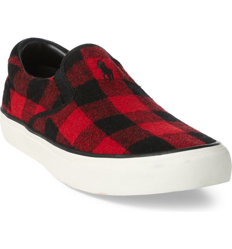 d9c23c51 Polo Ralph Lauren Thompson Wool Slip-On Sneaker (Men) | Nordstrom