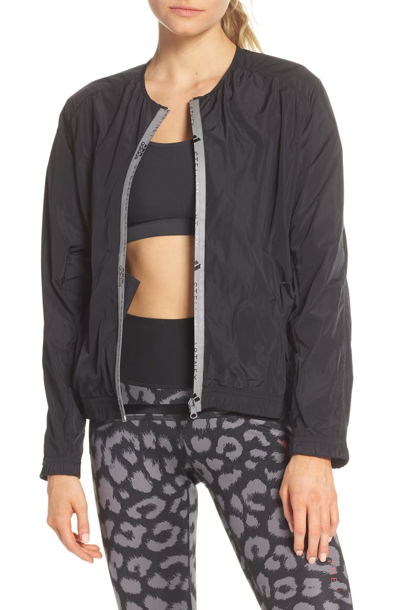 ADIDAS BY STELLA MCCARTNEY Bomber Jacket, Main, color, 001