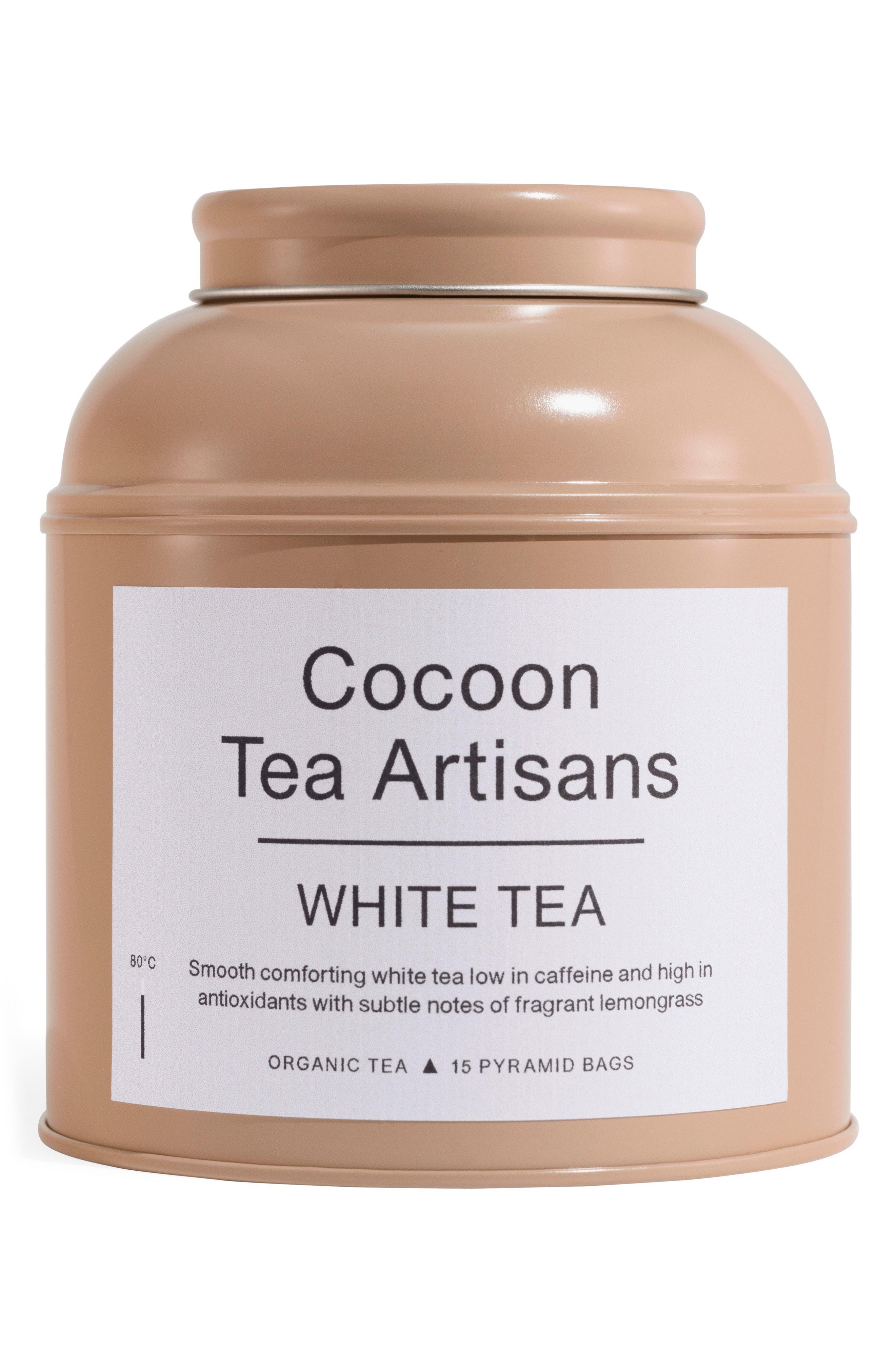 Cocoon Tea Artisans White Tea Big Tea Caddy