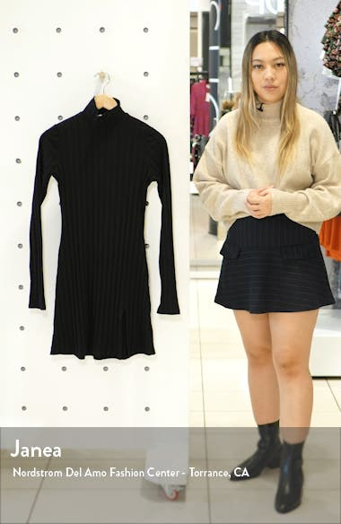 Libra Long Sleeve Minidress, sales video thumbnail