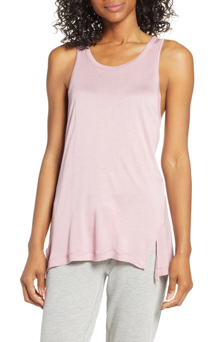 PJ SALVAGE Lounge Essentials Tank, Main, color, AMETHYST