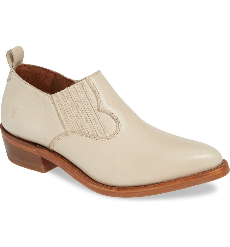 FRYE Billy Shootie, Main, color, OFF WHITE LEATHER