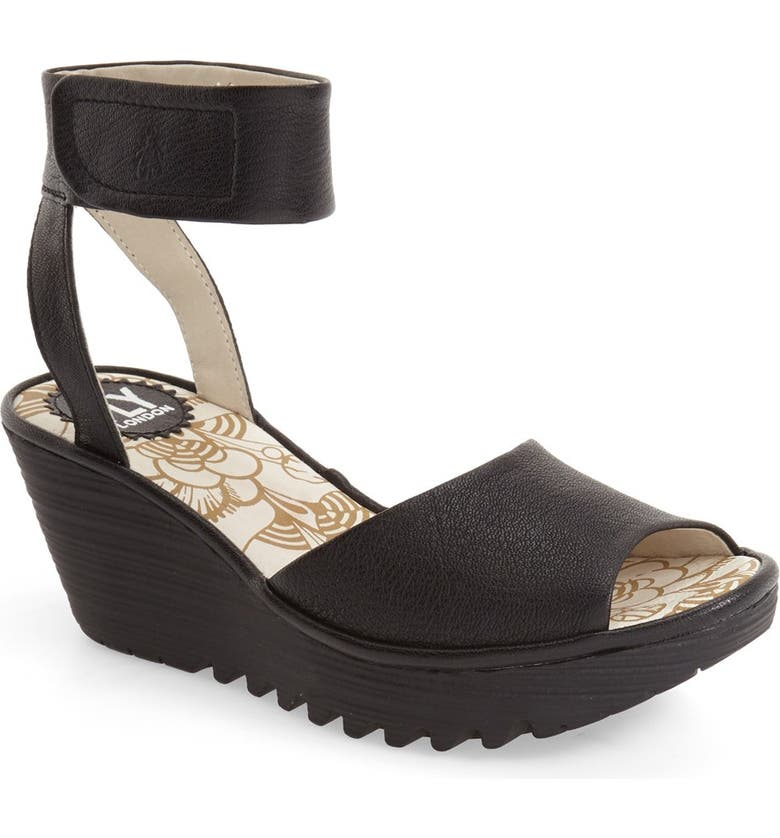 dcbe92ec23a81 Fly London 'Yula' Wedge Sandal (Women) | Nordstrom