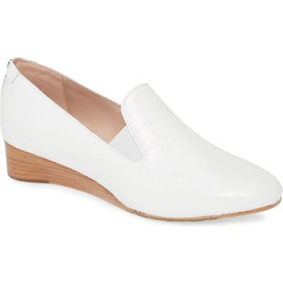 Taryn Rose Claudia Loafer, White