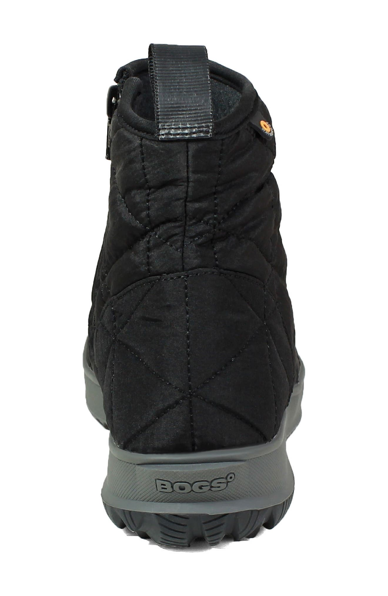 ,                             Snowday Waterproof Quilted Snow Boot,                             Alternate thumbnail 7, color,                             001